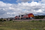 ATSF Art Special with 535 and 555